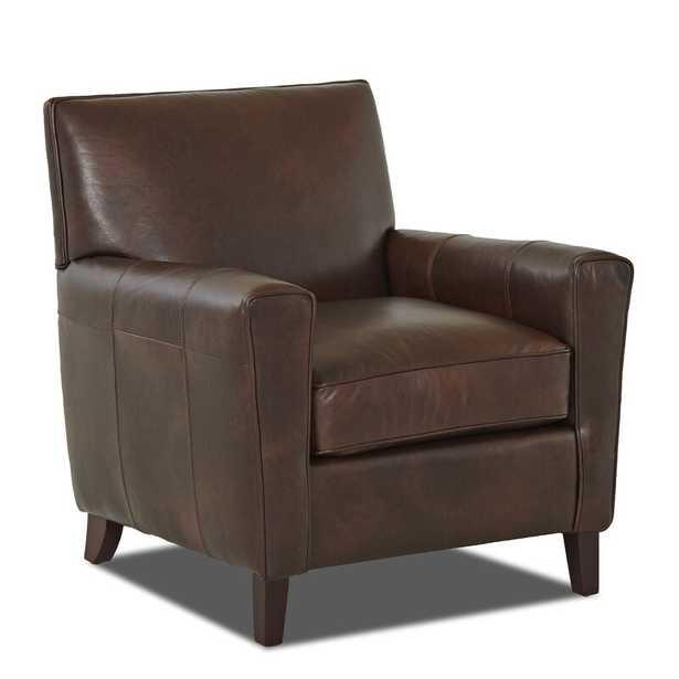 Gormley Leather Armchair - Wayfair