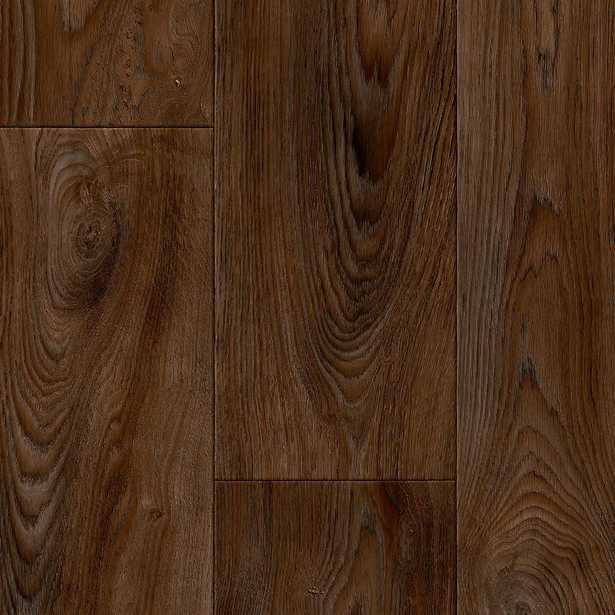TrafficMASTER Scorched Walnut Java Residential Vinyl Sheet, Sold by 12 ft. Wide x Custom Length - Home Depot
