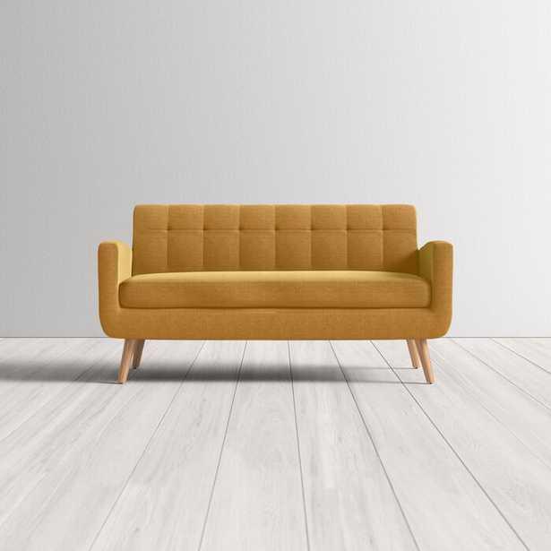 "Berti 66"" Square Arm Sofa bed - Birch Lane"