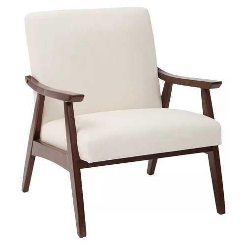 Roswell Lounge Chair in Linen - AllModern