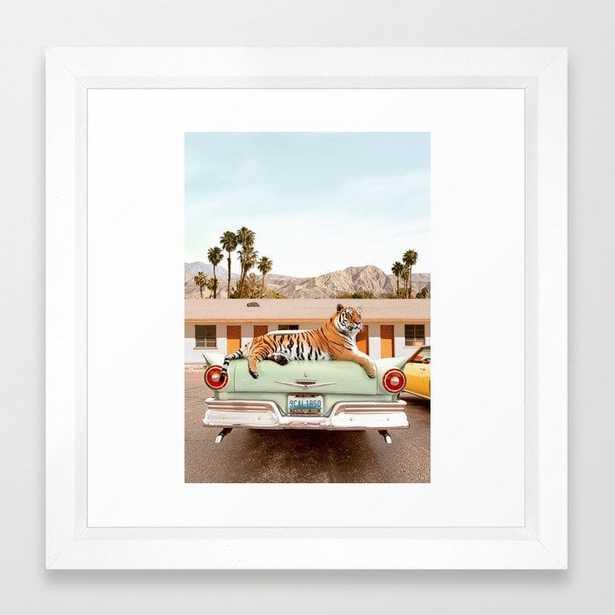 Tiger Motel Framed Art Print - Society6