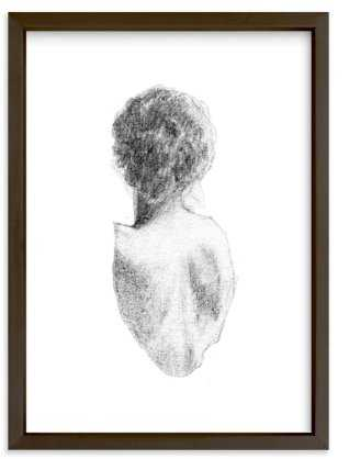 Figure Drawing No.17 5x7 - Minted