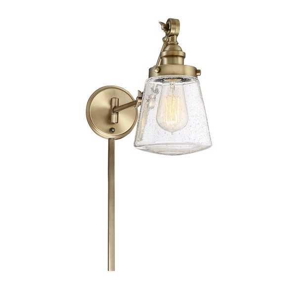 Brinley Swing Arm Lamp - Wayfair