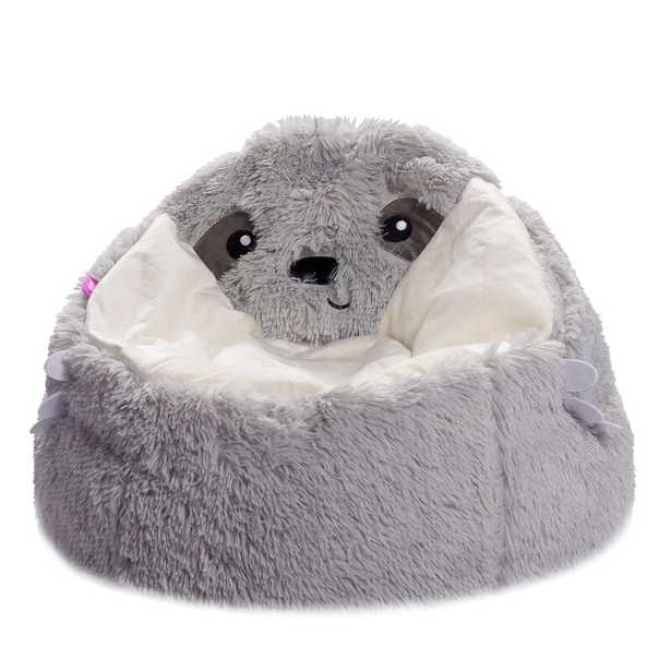 Soft And Cozy Animal Faux Fur Bean Bag Chair and Lounger - Wayfair