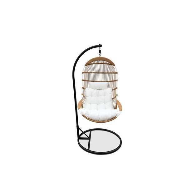Matranga Hanging Basket Swing Chair with Stand - Wayfair