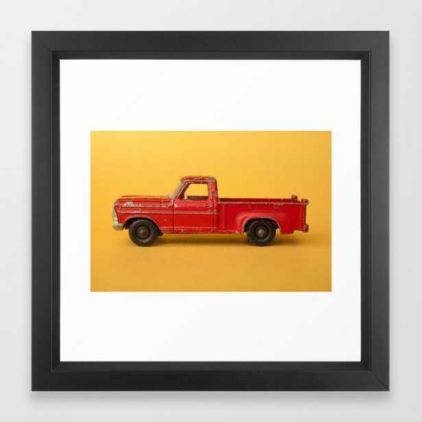 Ford Pickup - Vintage Matchbox Car Framed Art Print - Society6