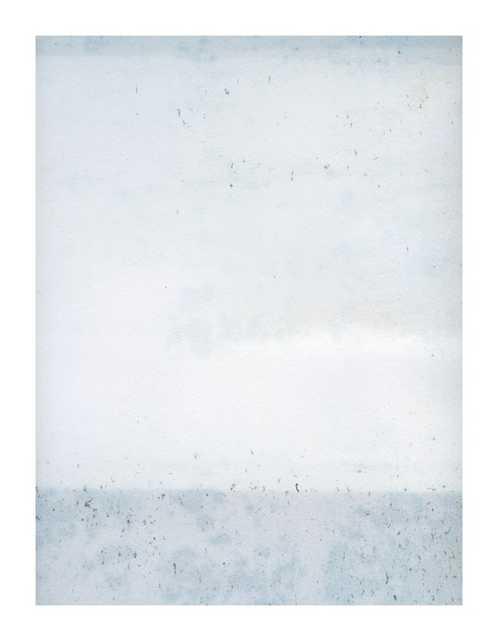 "Overast, Soft Blues, 28""x36"", No Frame - Artfully Walls"
