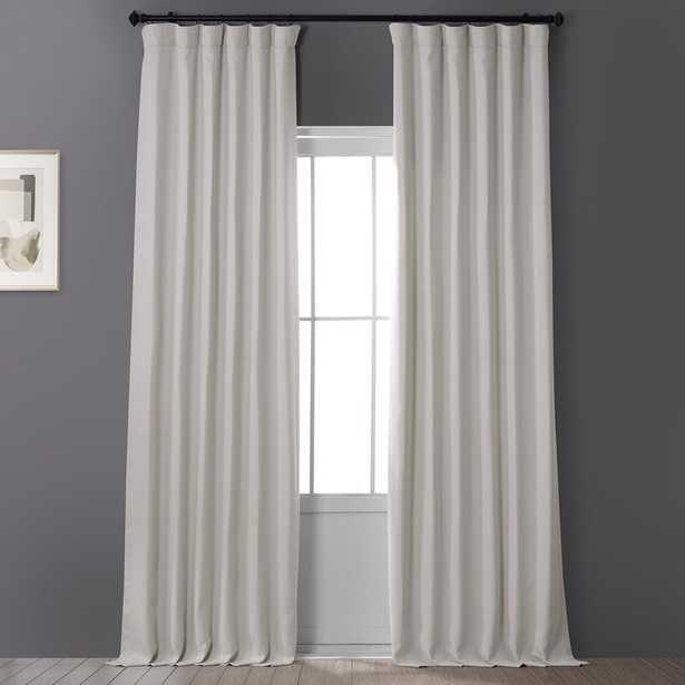 Clem Solid Blackout Rod Pocket Single Curtain Panel Beige/Tan 50x96 - Wayfair