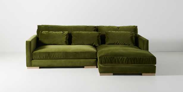 Relaxed Sunday Chaise Sectional - Anthropologie