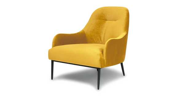 Embrace Heirloom Gold Chair - Article