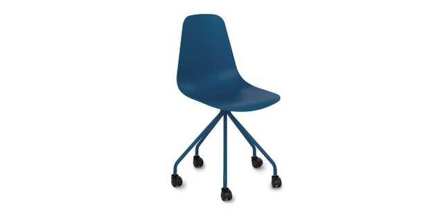 Svelti Navy Blue Office Chair - Article
