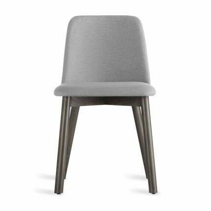Blu Dot Chip Side Chair in Pewter Color: Smoke - Perigold