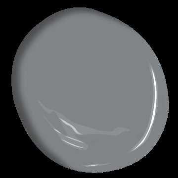 Rock Gray Ben® Waterborne Interior Paint - Eggshell Gallon - Benjamin Moore
