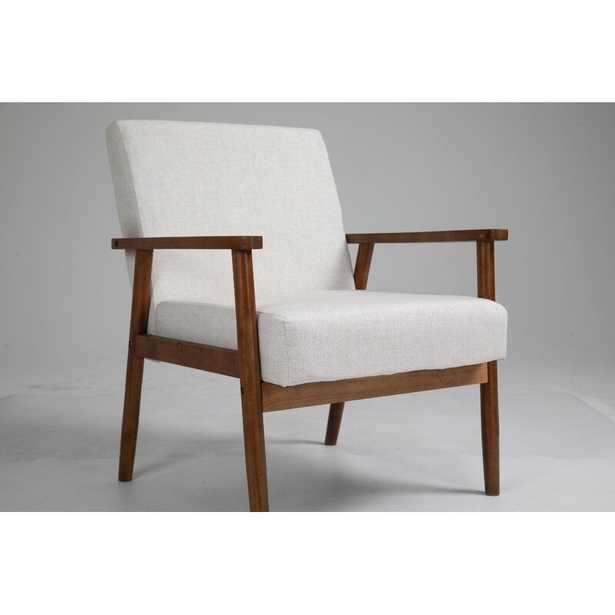 "Mccaleb 29.5"" Wide Polyester Armchair - Wayfair"