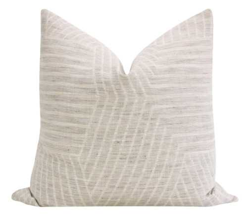 Labyrinth Linen // Oyster - Little Design Company