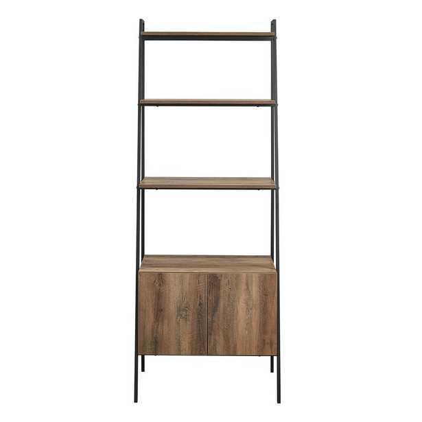 Diego 72'' H x 28'' W Steel Ladder Bookcase - Wayfair