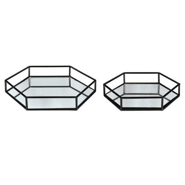 Kinch 2 Piece Vanity Tray Set - Wayfair