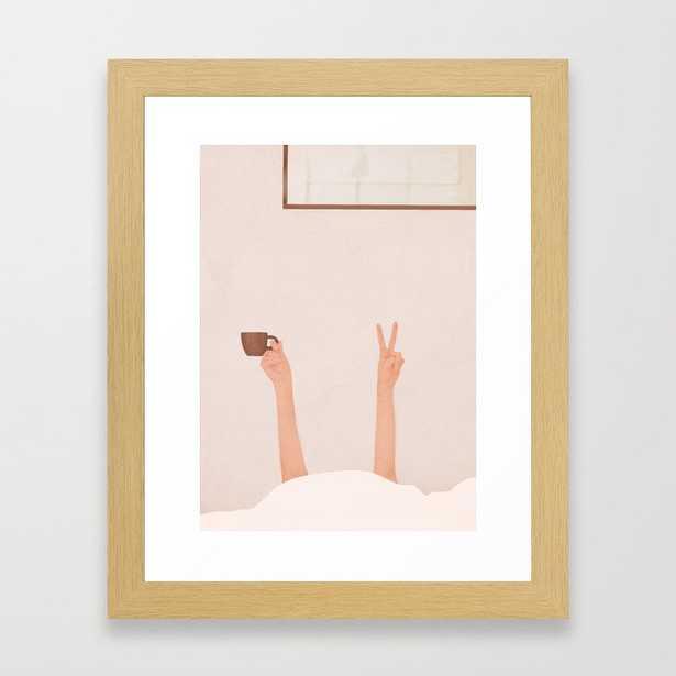 Good Peaceful Morning Framed Art Print - Society6