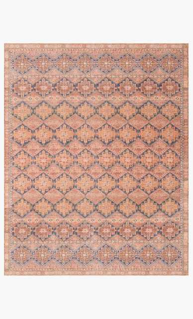 DEV-04 MH Persimmon / Indigo - Magnolia Home by Joana Gaines Crafted by Loloi Rugs