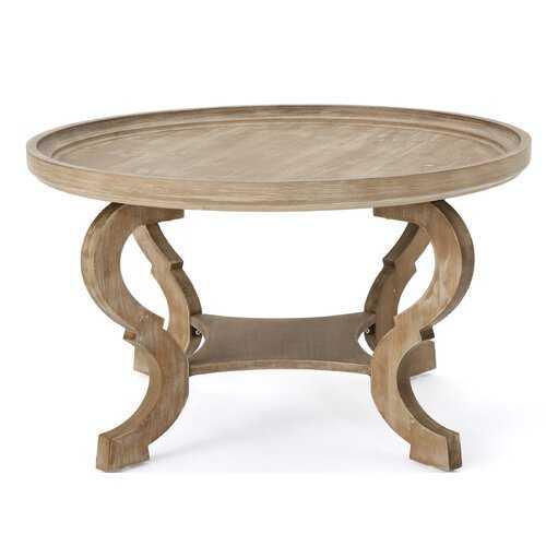 Feldt Circular Coffee Table - Wayfair