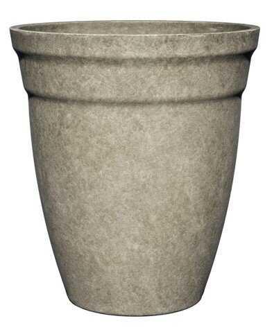Cloud Gray Macy Plastic Pot Planter - Wayfair