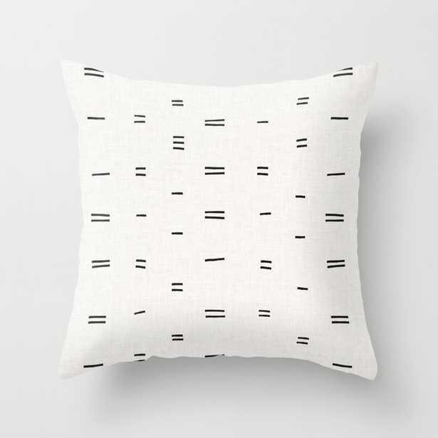 HAMMAH MUDCLOTH Throw Pillow - Society6
