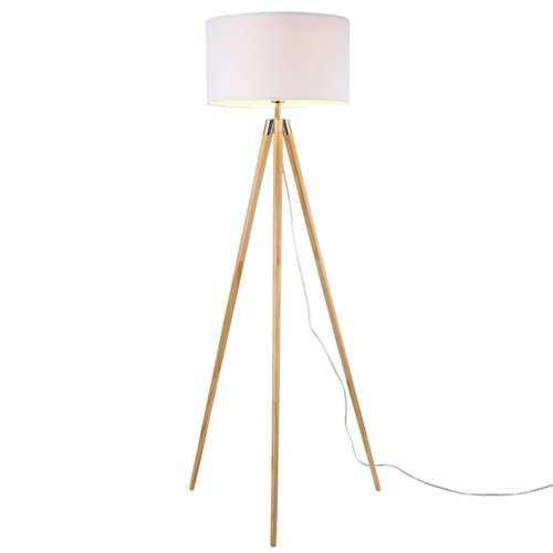 "Kaleb 61.5"" 1-Light Tripod Floor Lamp - Wayfair"