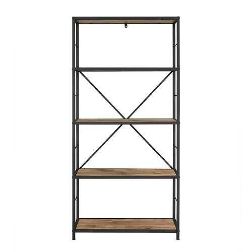 Barnwood Macon Etagere Bookcase - Wayfair