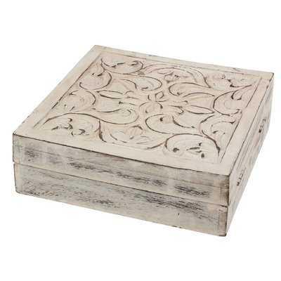 Whiddon Wooden Decorative Box - Wayfair