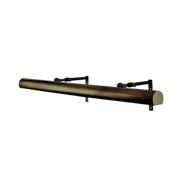 Distressed Bronze Jaynes 4-Light Plug-in Wall Mounted Picture Light - Wayfair