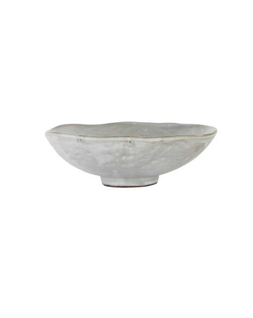 DIMPLED MATTE STONEWARE BOWL - McGee & Co.