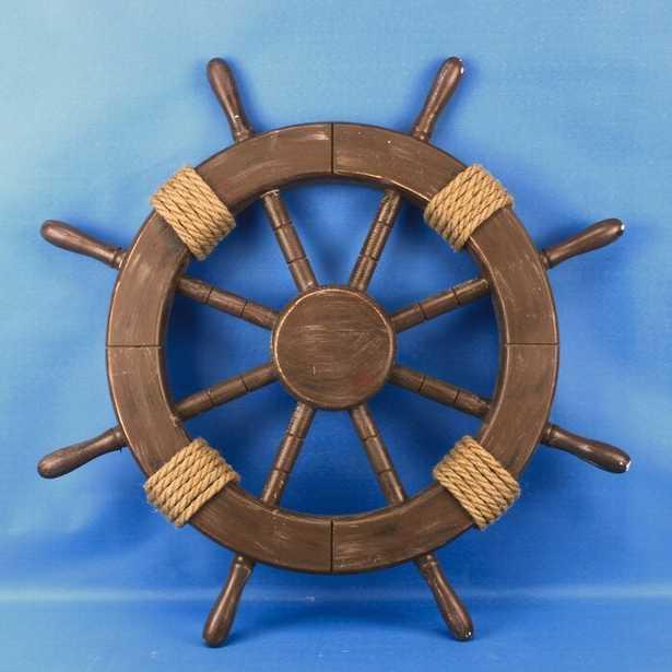 Ship Wheel Wood Wall Décor - Wayfair
