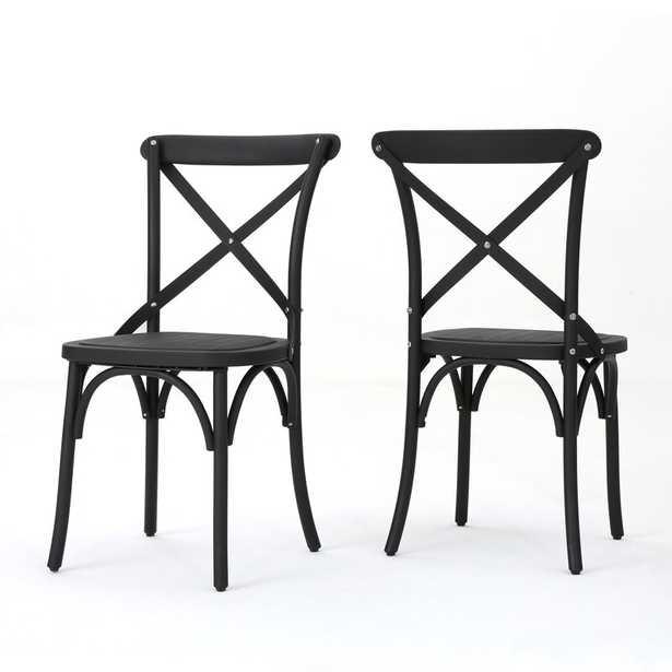 Kayleigh Patio Dining Chair (Set of 2) - Wayfair