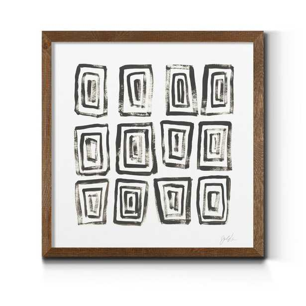 Mixed Signals IV - Framed Picture on Canvas - Wayfair