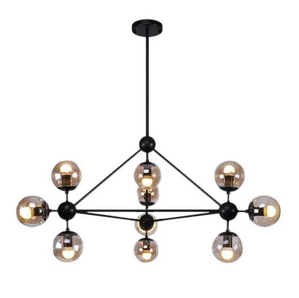Julius 10-Light Sputnik Modern Linear Chandelier - AllModern