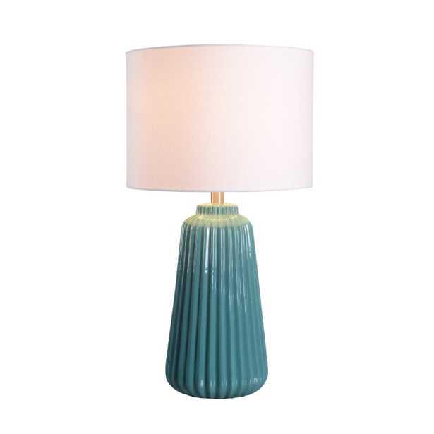 "26.75"" H x 14"" W x 14"" D Index 27"" Table Lamp - Wayfair"