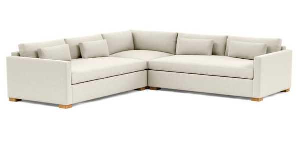 CHARLY Corner Sectional Sofa - Interior Define