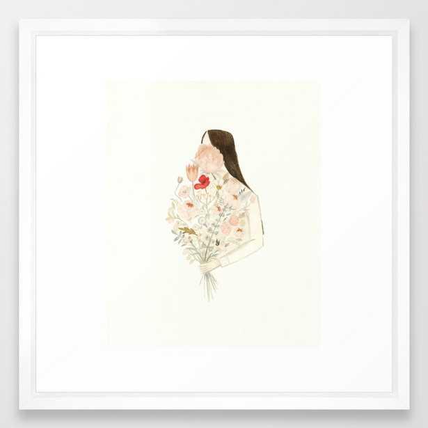 Floraphilia Framed Art Print - Society6