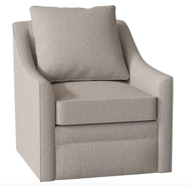 Quincy Swivel Chair - Max Stone - Birch Lane