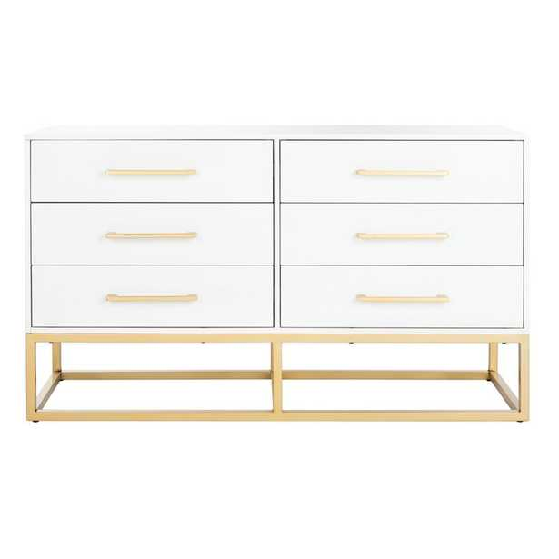 Estelle 6 Drawer Double Dresser - Perigold