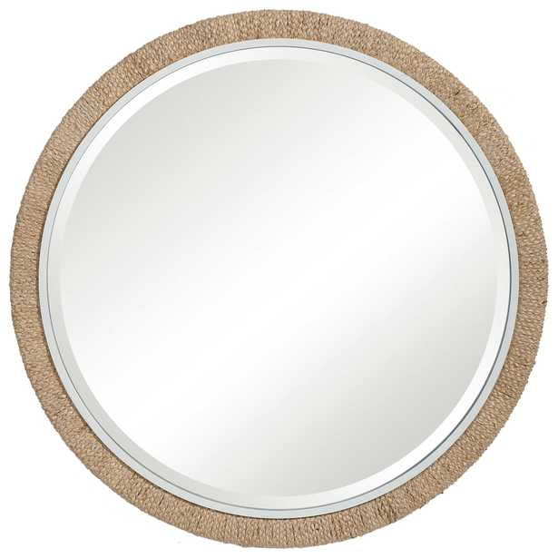 Carbet Round Rope Mirror - Hudsonhill Foundry
