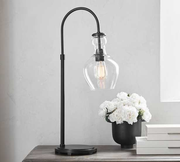 Flynn Recycled Glass Table Lamp - Pottery Barn