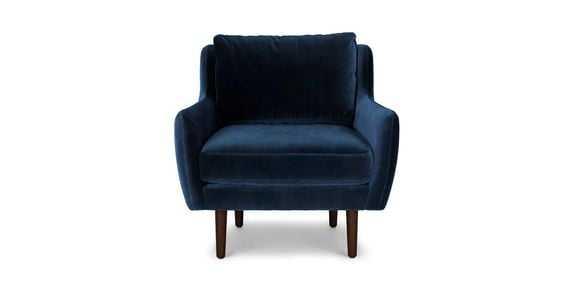 Matrix Lounge Chair - CASCADIA BLUE AND WALNUT - Article