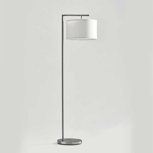 Brightech Montage Modern Standing Floor Smart Lamp With LED Light, Satin Nickel - Wayfair