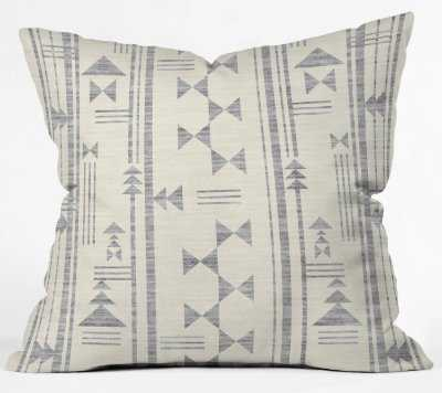"""INDIO Throw Pillow - 20"""" x 20"""" - Insert Included - Wander Print Co."""