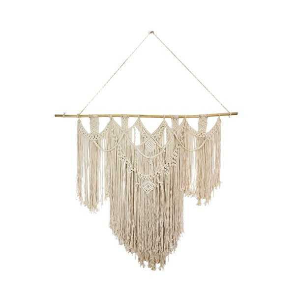 Elegant Macrame Tapestry and Wall Hanging - Wayfair