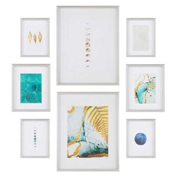 Latitude Run 8 Piece Gallery Wall Picture Frame Set - Wayfair