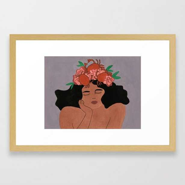 Cancer - For Marie Claire France January 2018 Framed Art Print - Society6