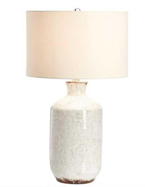"""Bethany Ceramic 23.5"""" Medium Table Lamp - Pottery Barn"""