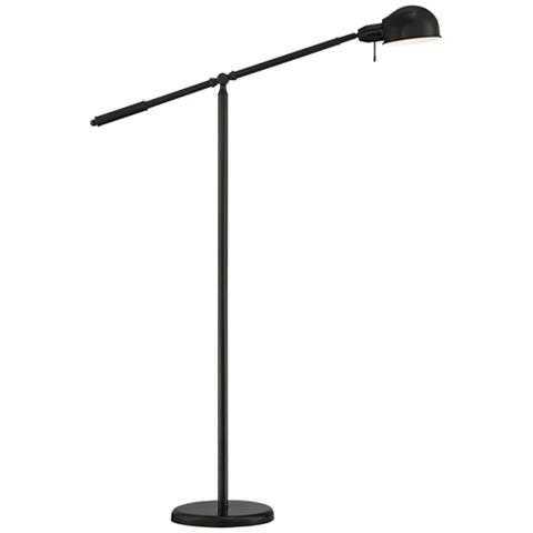 Dawson Dark Bronze Pharmacy Floor Lamp - Style # 42D35 - Lamps Plus